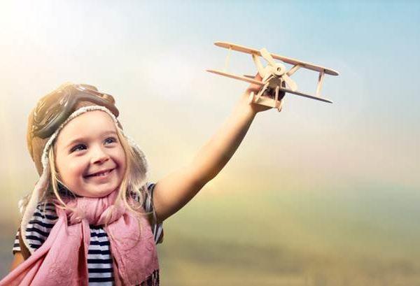 Kindersicherheit im Flugzeug